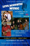 Beau Erin concert new